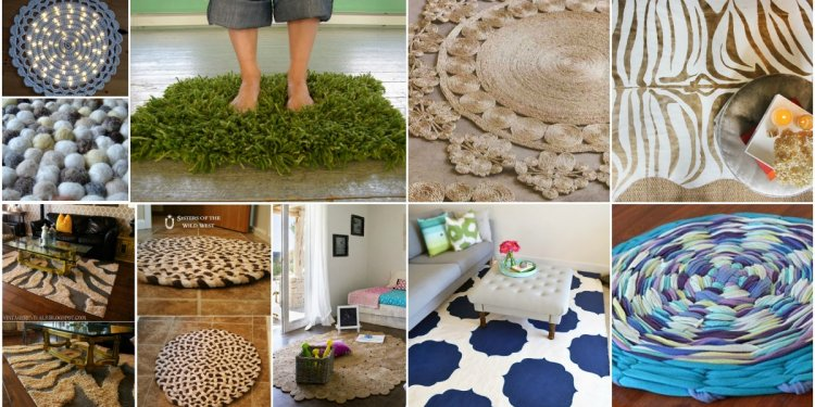 30 Magnificent DIY Rugs to