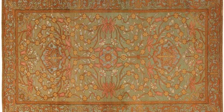Antique Bezalel Oriental Rug