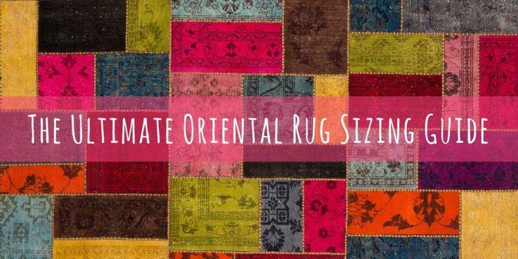 Area rug sizes oriental rug