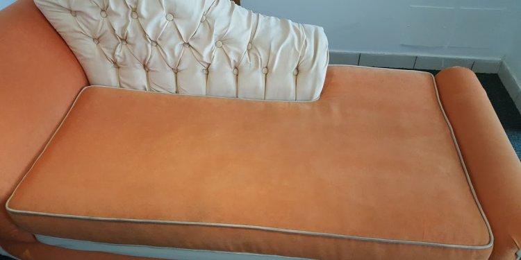 Fabric & Leather Sofa