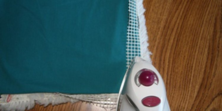 How to use iron-on rug binding