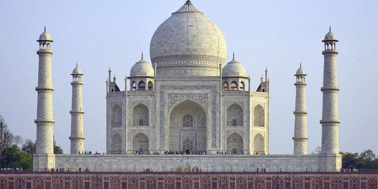 India - Uttar Pradesh - Agra - Taj Mahal - 15