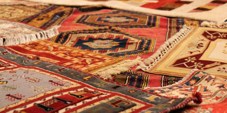 Traditional carpets from