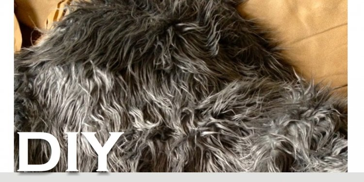 La vie DIY: DIY Faux Sheepskin