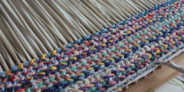 Latest Rag Rug Weaving