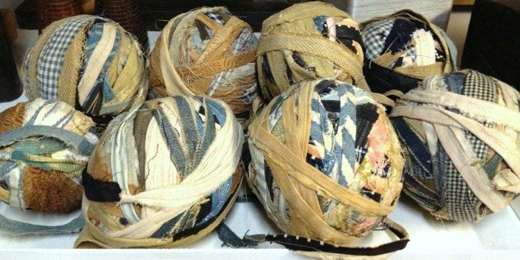 Antique Rag Balls - Peggy