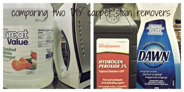 Carpet sn remover hydrogen