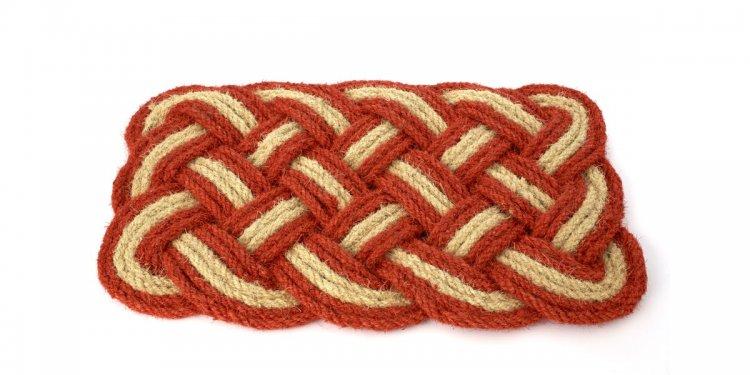 Braided doormat ($20)