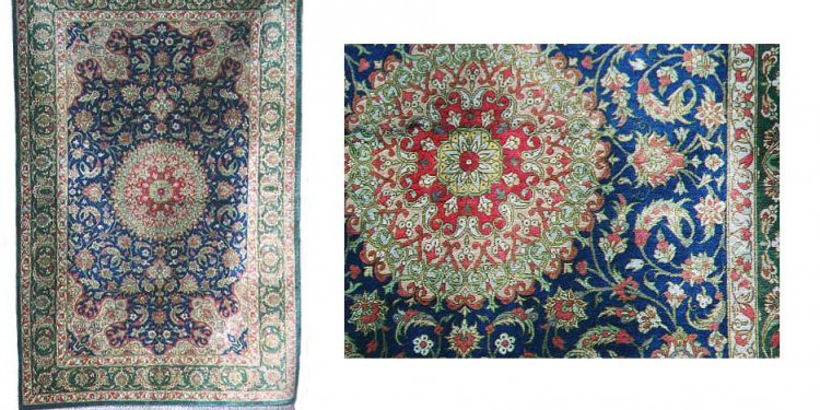 Hand Knotted Rugs-Silk