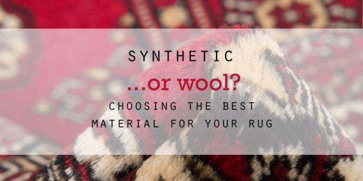 Wool Rugs VS Polypropylene