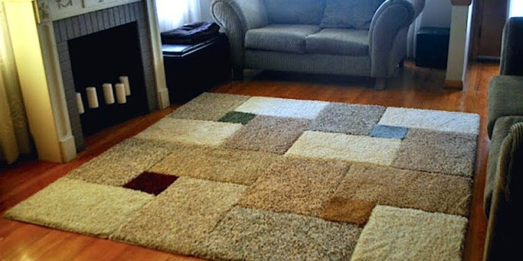 How to make a large Area rug?