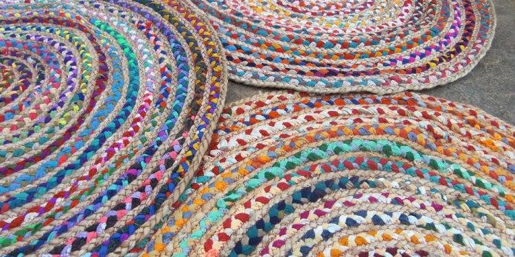 Braided Rag rugs