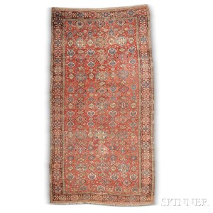 Complete Classical Long Rug, Southern Caucasus, late 18th century (good deal 115, Estimate: ,000-6,000)