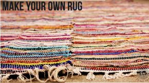 DIY Large Rustic region Rug