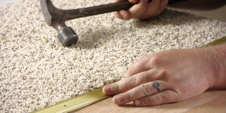 How to install carpet on Cement floor?