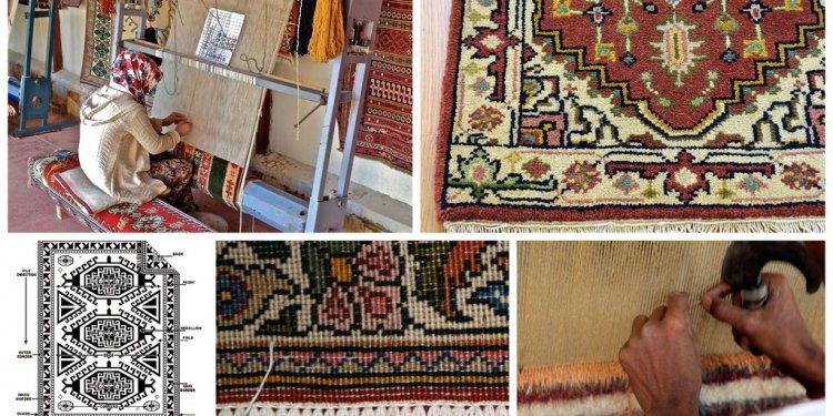 How to make a Persian rug?