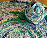 Crochet with Fabric Strips