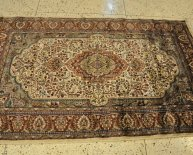 Hand knotted rugs India