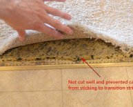 How to stretch carpet DIY?