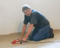 Install Carpeting