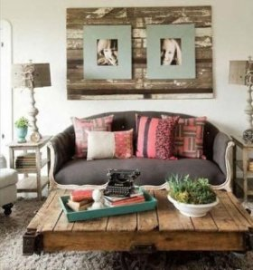 wooden pallet classic home decor